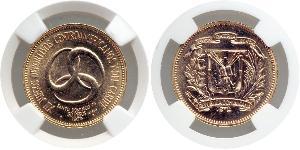 30 Peso Dominikanische Republik Gold
