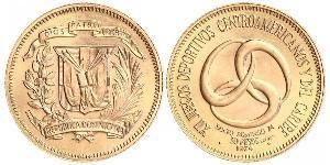 30 Peso République dominicaine Or