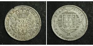 320 Reis Brésil Argent
