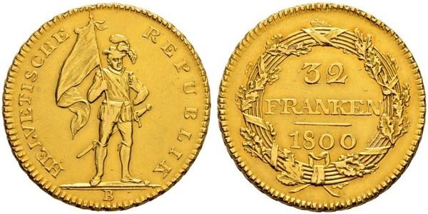 32 Franc Suisse Or