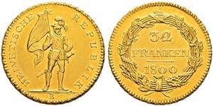 32 Franc Svizzera Oro