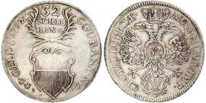 32 Shilling Germania Argento