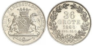 36 Grote States of Germany Argent