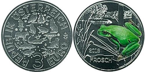 3 Евро Австрийская Республика(1955 - ) Медь