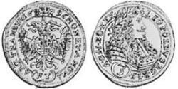 3 Крейцер Княжество Трансильвания (1571-1711) Серебро