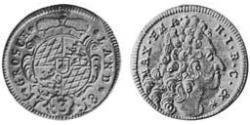 3 Крейцер Баварія (курфюрство) (1623 - 1806) Срібло