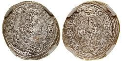 3 Крейцер Баварія (курфюрство) (1623 - 1806) Срібло Максиміліан II (курфюрст Баварії)