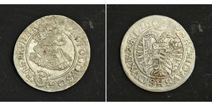 3 Крейцер Священна Римська імперія (962-1806) Срібло Леопольд I Габсбург(1640-1705)