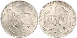 3 Марка Веймарская республика (1918-1933) Серебро