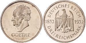 3 Марка Веймарська республіка (1918-1933) Срібло