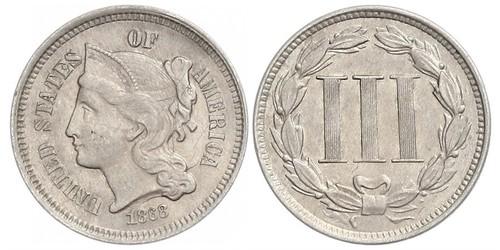 3 Cent Stati Uniti d