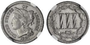 3 Cent USA (1776 - ) Silver