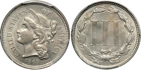 3 Cent USA (1776 - ) Silver