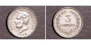 3 Centavo El Salvador