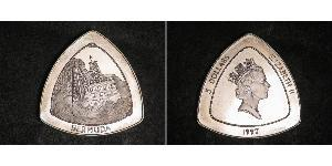 3 Dollar Bermuda Silver Elizabeth II (1926-)