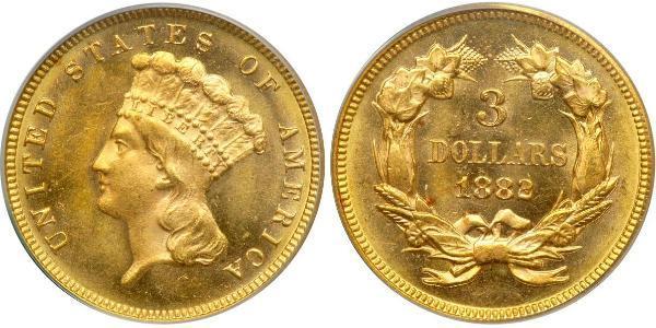 3 Dollaro Stati Uniti d