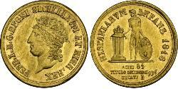 3 Ducat Italian city-states Gold Ferdinand I of the Two Sicilies (1751 - 1825)