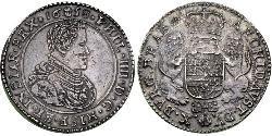 3 Ducaton Republik der Sieben Vereinigten Provinzen (1581 - 1795) Silber Philip IV. von Spanien (1605 -1665)