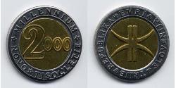 3 Euro Slowenien Bimetall