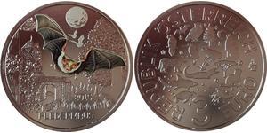 3 Euro Republik Österreich (1955 - ) Kupfer