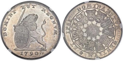 3 Florin Paesi Bassi austriaci (1713-1795) Argento