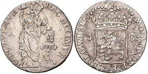 3 Gulden Dutch Republic (1581 - 1795) Silver