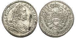 3 Kreuzer 奥地利历史 (1156 - 1806) 銀