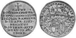 3 Kreuzer Hochstift Bamberg (1245–1802) Billon Silber