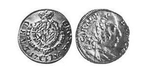 3 Kreuzer Electorate of Bavaria (1623 - 1806) Plata