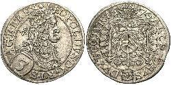 3 Kreuzer Österreich Silber