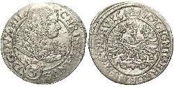 3 Kreuzer Deutschland Silber