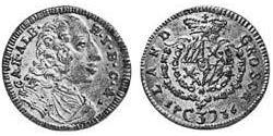 3 Kreuzer Kurfürstentum Bayern (1623 - 1806) Silber