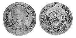 3 Kreuzer Electorate of Bavaria (1623 - 1806) Silver