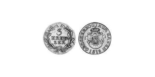 3 Kreuzer Grand Duchy of Baden (1806-1918) Silver