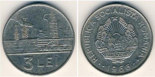 3 Leu Roumanie