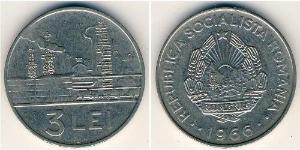 3 Leu Rumänien