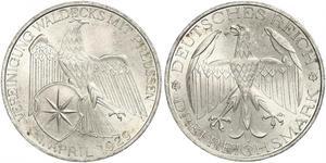 3 Mark 魏瑪共和國 (1919 - 1933) 銀