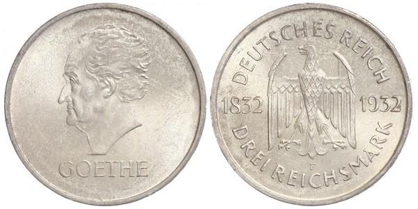 3 Mark République de Weimar (1918-1933) Argent