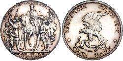 3 Mark Königreich Preußen (1701-1918) Silber