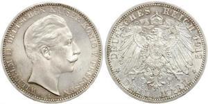 3 Mark Königreich Preußen (1701-1918) Silber Wilhelm II, German Emperor (1859-1941)