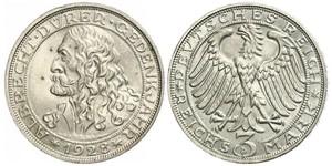 3 Mark Weimar Republic (1918-1933) Silver