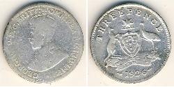 3 Penny Australia (1788 - 1939) Silver