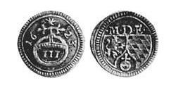 3 Pfennig Electorate of Bavaria (1623 - 1806) Silver