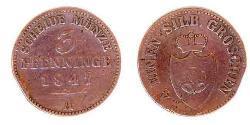 3 Pfennig Principality of Lippe (1123 - 1918)