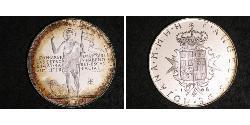 3 Scudo Order of Malta (1080 - ) Silver