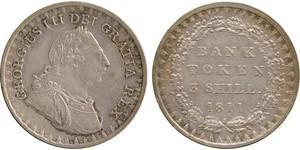 3 Shilling Royaume-Uni de Grande-Bretagne et d