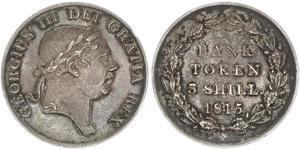 3 Shilling Vereinigtes Königreich Silber Georg III (1738-1820)