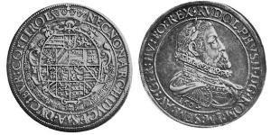 3 Thaler Sacro Imperio Romano (962-1806) Plata
