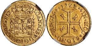 4000 Reis 巴西 金 若昂五世 (1689 - 1750)