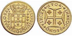 4000 Reis Kingdom of Portugal (1139-1910) Gold